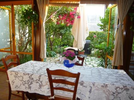 Bed breakfast luisa e franco poeta este padova - Veranda in giardino ...
